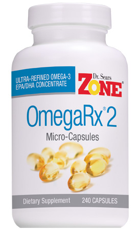 Dr. Sears Zone OmegaRx2, 240 micro-capsules