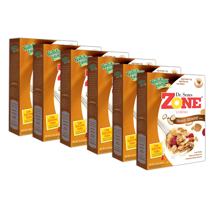 Zone Cereal 6 Pack