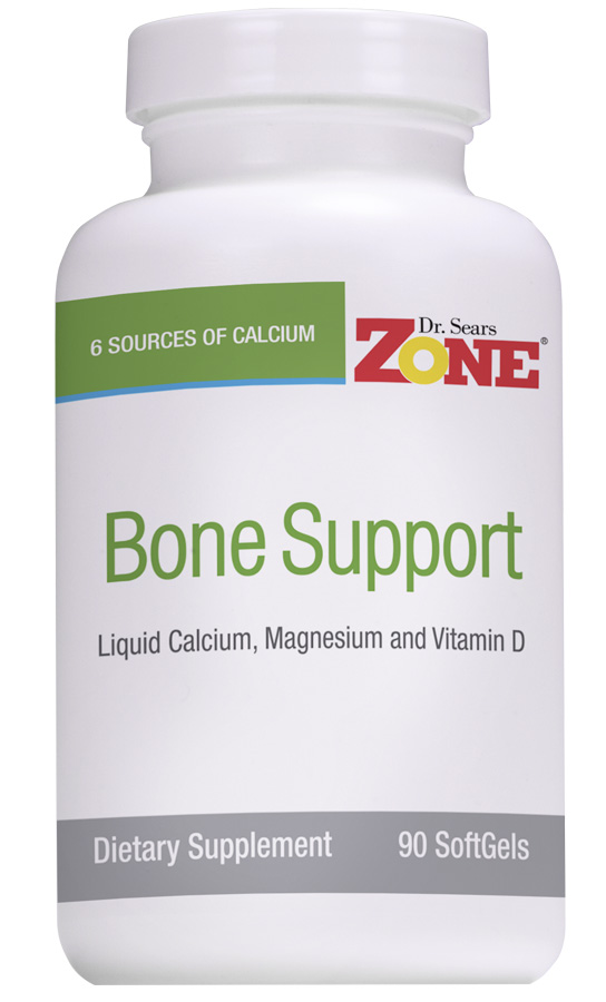 Dr. Sears' Zone Bone Support - 90 SoftGels