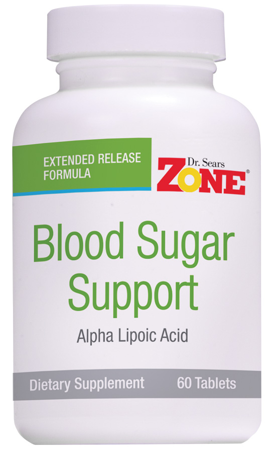 Dr. Sears' Zone Blood Sugar Support - 60 Tablets