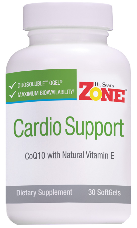 Dr. Sears' Zone Cardio Support - 30 Softgels