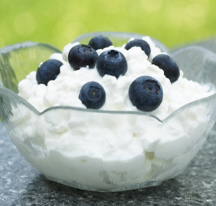 Blueberry Cottage Cheese