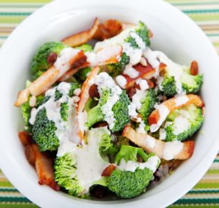 Broccoli Salad with Chicken