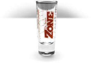 Zone Fish Oil Shot Glass