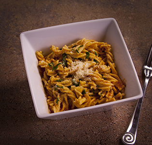 Fusilli with Red Clam Sauce