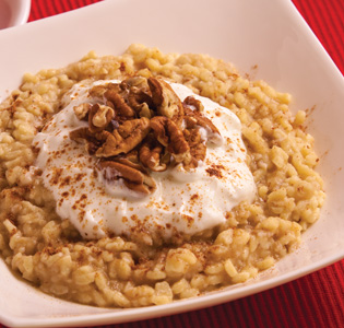 Zone Family Style Apple Pie Spiced Orzo