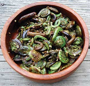 Zone Fiddleheads and Herbs